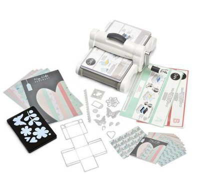 Sizzix Big Shot Plus Starter Kit White & Grey ft. MLH 661546