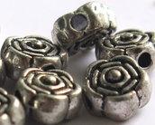 10  Distanziatori in argento tibetano   DIS27