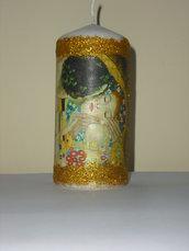 Candela con Bacio di Klimt