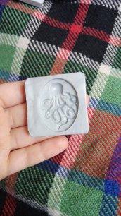 Stampo flessibile cameo polpo