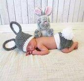 Vestitino neonato costume uncinetto neonato