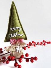 Natale - Alberello decorativo in pannolenci