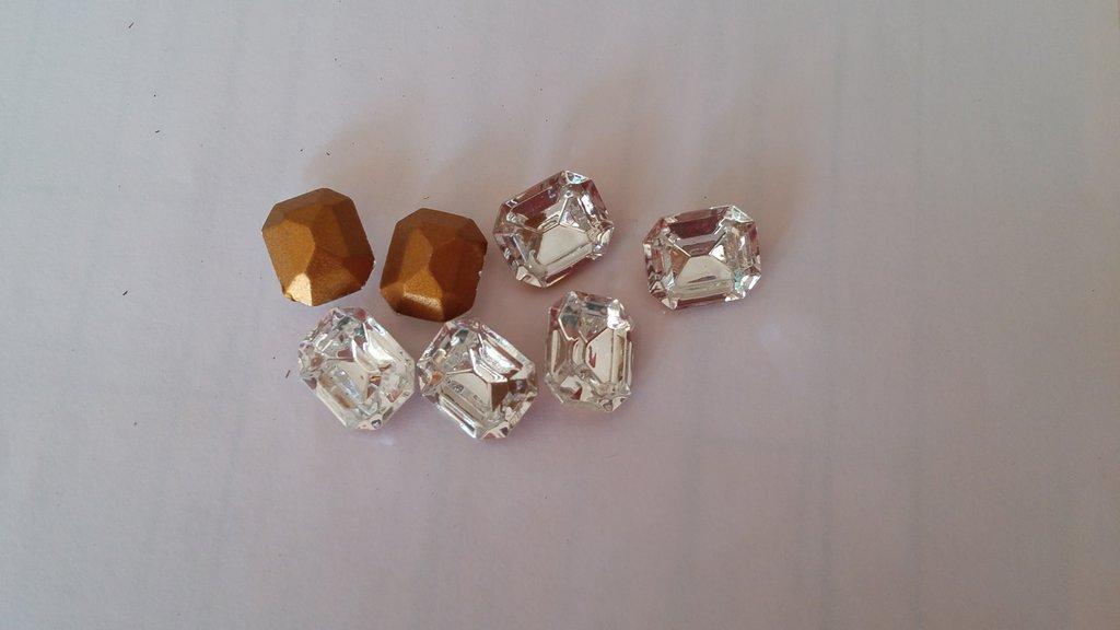 Swarovski Crystal,  10 x 12 MM, Art 4600  Octagon