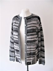 Cardigan in lana - golfino fatto a mano - cardigan leggero - cardigan fatto a mano