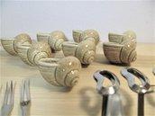 Servizio per lumache alla Bourguignonne - Gusci lumache in  ceramica da forno - set ceramica da forno