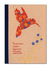 QUADERNO applicazioni raffinata carta di riso giapponese - carta di riso pregiata - quaderno righe - cancelleria - tempo libero