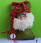 Copribottiglia con Babbo Natale