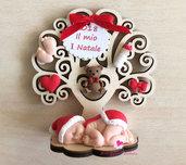 Albero della vita decorato per il primo Natale del vostro bimbo