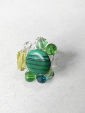 ANELLO IN MALACHITE