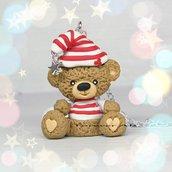 Collana orso orsetto stella kawaii cute fimo idea regalo san valentino