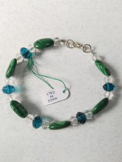 BRACCIALE IN MALACHITE