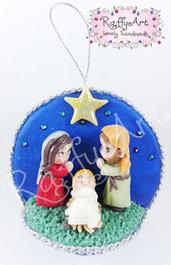"Pallina Natale ""Nativity"""