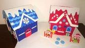 Casette elfi- casette aiutanti di Babbo Natale