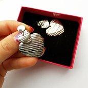 Orecchini Love orecchini con pendenti a cuore  Acciaio