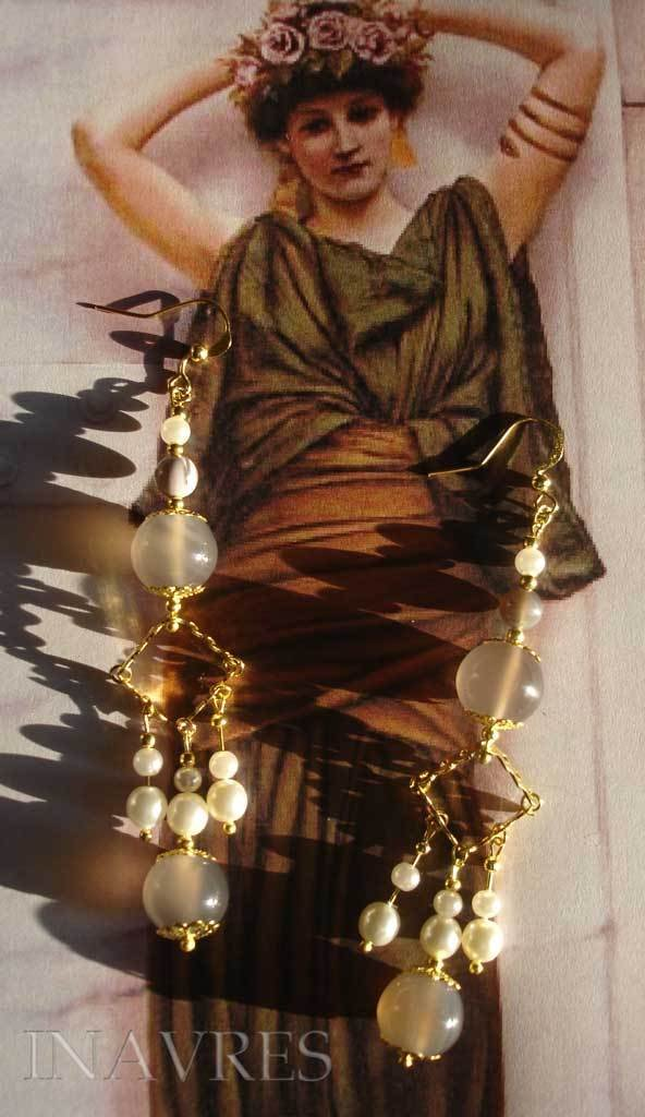 Orecchini romani crotalia 014