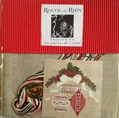 Joyeux Noel - Kit Punto Croce Rouge du Rhein