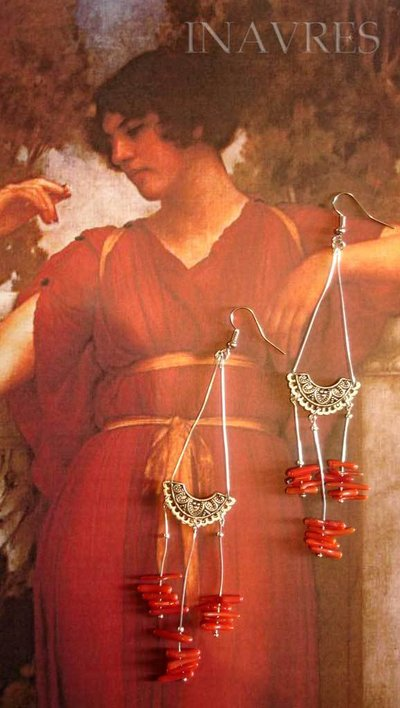 Orecchini romani crotalia 019