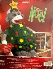 Scimmietta Albero di Natale - Pupazzo