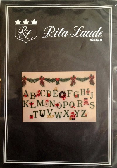 Alfabeto di Natale - Kit Punto Croce Rita Laude