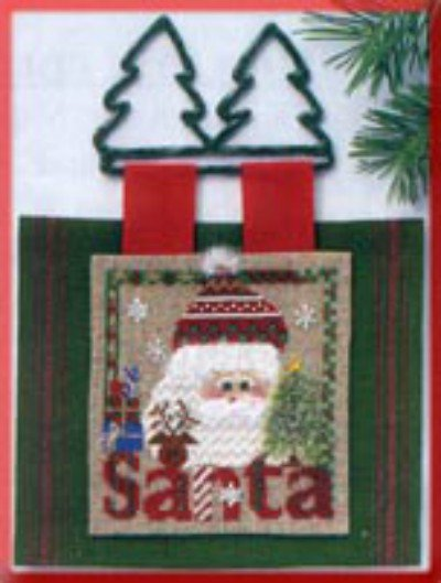 Pannello Babbo Natale - Kit Punto Croce