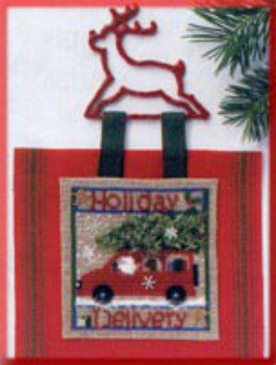 Pannello Holiday Delivery - Kit punto croce e perline