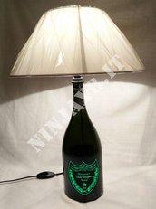 Lampada bottiglia champagne Dom Perignon Luminous Magnum