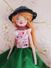 Bambola di stoffa fatta a mano, Handmade doll, Tusì Doll