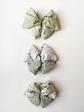 Sacchettini profumati alla Lavanda a forma di Farfalla fantasie Verde/Beige