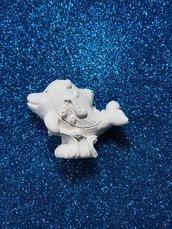 Delfino gesso ceramico profumato per il fai da te