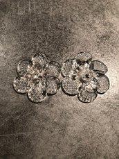 Rosette , ricambi per lampadari di Venini, specchi e plafoniere , in vetro soffiato di Murano