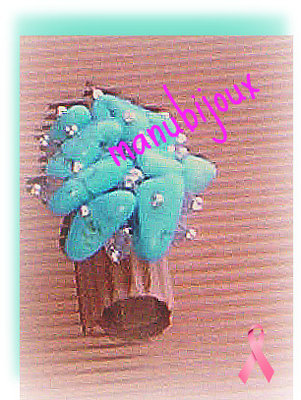 Anello turchese