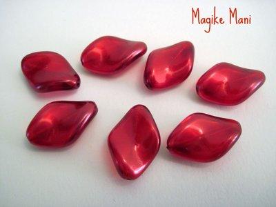 Petali di resina rossi