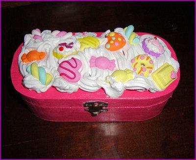 scatola dolcetti in fimo