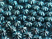 30 Distanziatori fiore blu DIS29