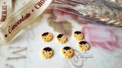 Miniature biscotto kawaii minuteria materiale per creare bigiotteria accessori riempimento bottigliette decorazioni casa bambole