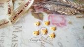 Gatto biscotto cabochon minuteria materiale per creare bigiotteria accessori riempimento bottigliette decorazioni casa bambole