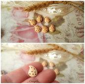 Miniatura biscotto gocce di cioccolato cabochon minuteria materiale per creare bigiotteria  bomboniere