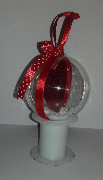 Palla cuore double face - Feste - Natale - di Morfo blu ...