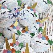Pallina natalizia Unicorno