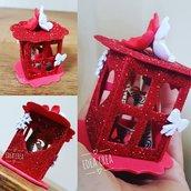 Lanterne rosse natalizie