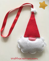 Babbo Natale decorazione in panno
