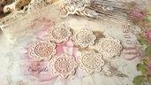 Centrino 3 cm. pvc decorazione, per creare set miniature bigiotteria accessori abbellimenti