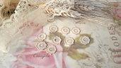 Centrino 1,3 cm.  pvc decorazione, per creare set miniature bigiotteria accessori abbellimenti