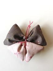 """Sacchettino profumato alla Lavanda a forma di Farfalla """"Rosy"""""""