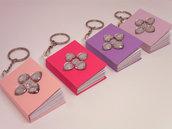 Portachiavi con mini-notebook