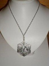 collana amuleto nodo celtico