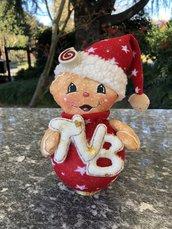 Natale - pallina di Natale Gingerbread TVB in piedi