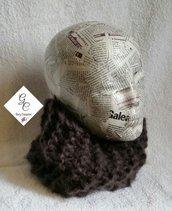 Scaldacollo in lana mohair unisex