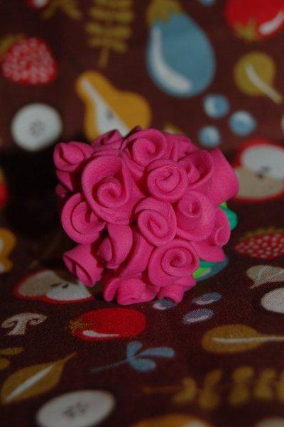 Roses Ring Fucsia