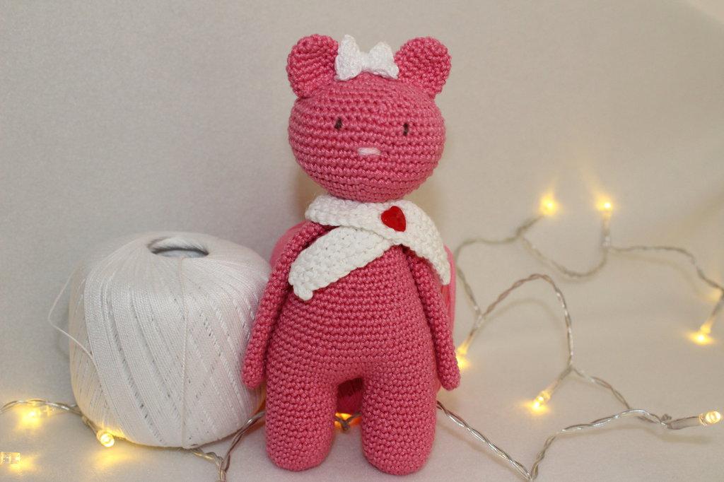 Cloe orsetta rosa